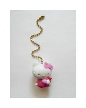 New Hello Kitty Figure Ceiling Fan Light Lamp Pull 3 Free Shipping