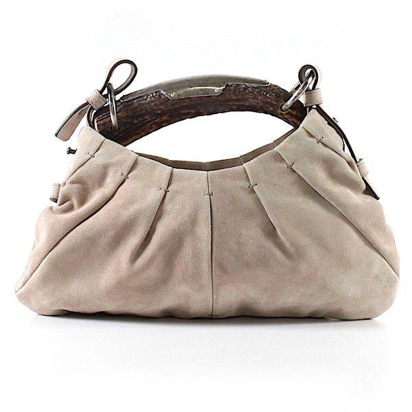 Pre-owned Yves Saint Laurent Rive Gauche Shoulder Bag  Brown Women s ... b8f9e200c7
