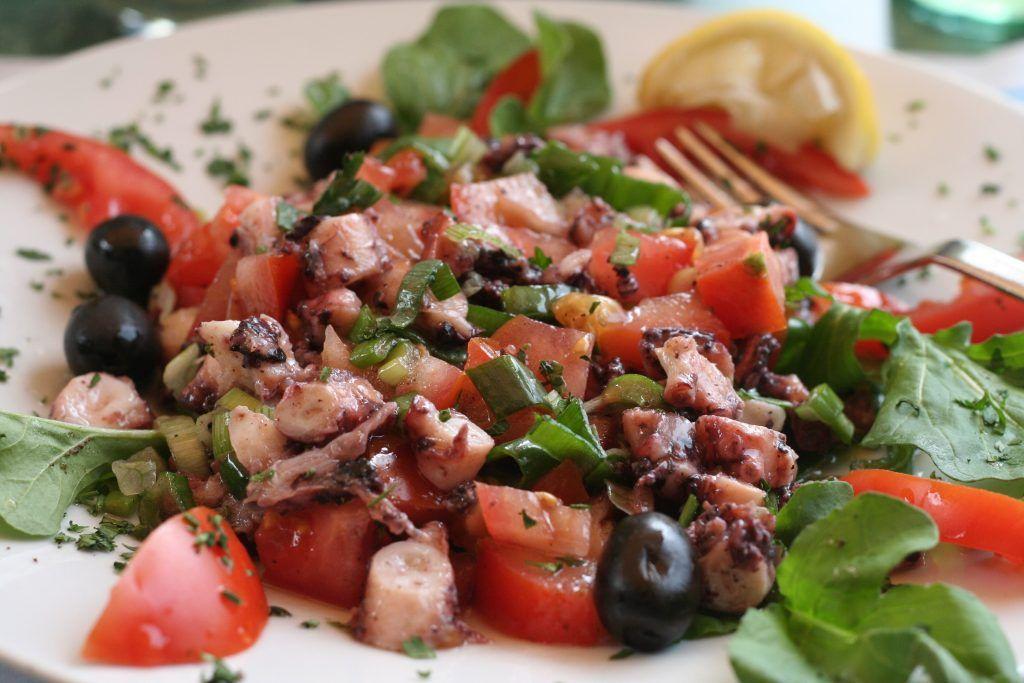 croatian Octopus Salad Croatian Food Croatian cuisine