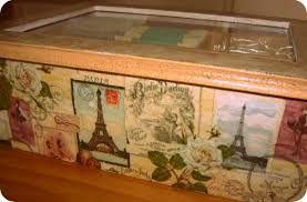 Resultado La imagen de cajas para bolsas de té decoradas