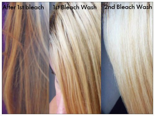 The Stages Of Lightening Hair Goals Pinterest Hair Bleached