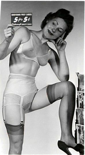 See By This Lovely Mature Woman Those Were The Days 5 Post Cards For 5 Cents Then Panties Were About 30 50 Cents A Pair You Can Just See Her Hairy