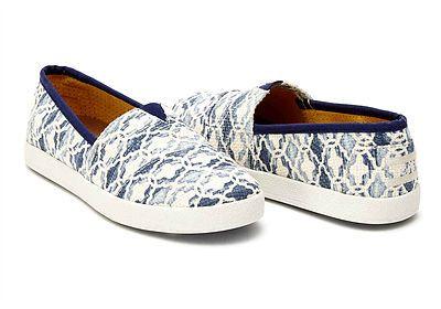 Toms Avalon Shoes Ladies Blue Moroccan Tile Print Blue at eshoes  eshoes   toms  shoes  avalon  ladies 5a12861ed