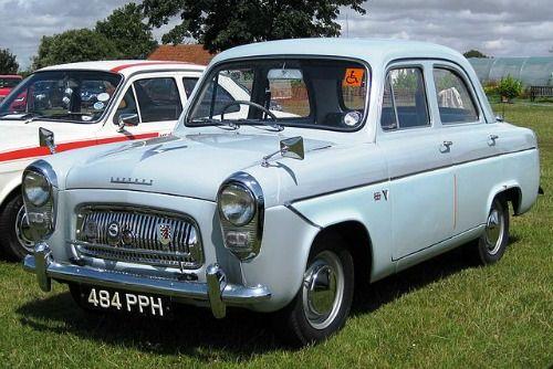 997cc Ford Prefect 107e 1960 Also Anglia And Popular Made In
