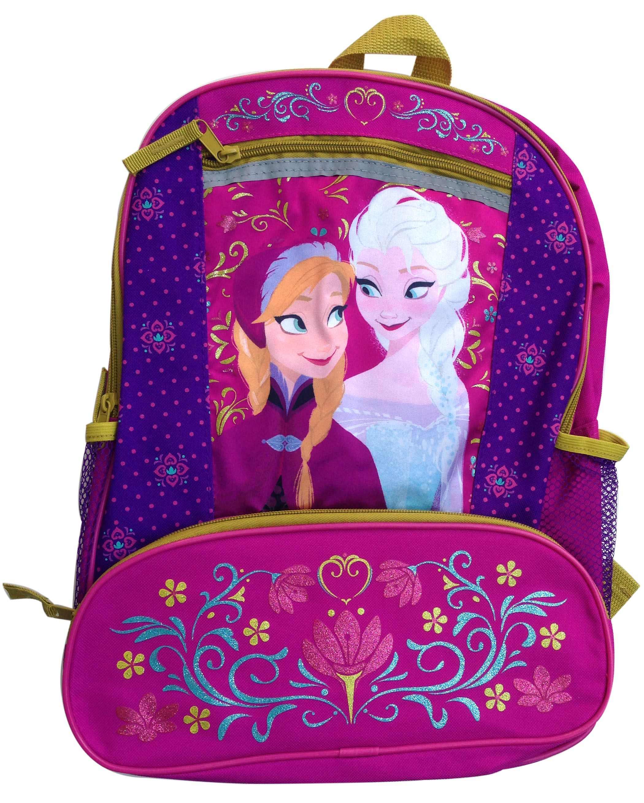 b456499fcc5 Disney Frozen Elsa and Anna Backpack - featuring Folklore  Rosemaling  design  GlobalDesignConcepts