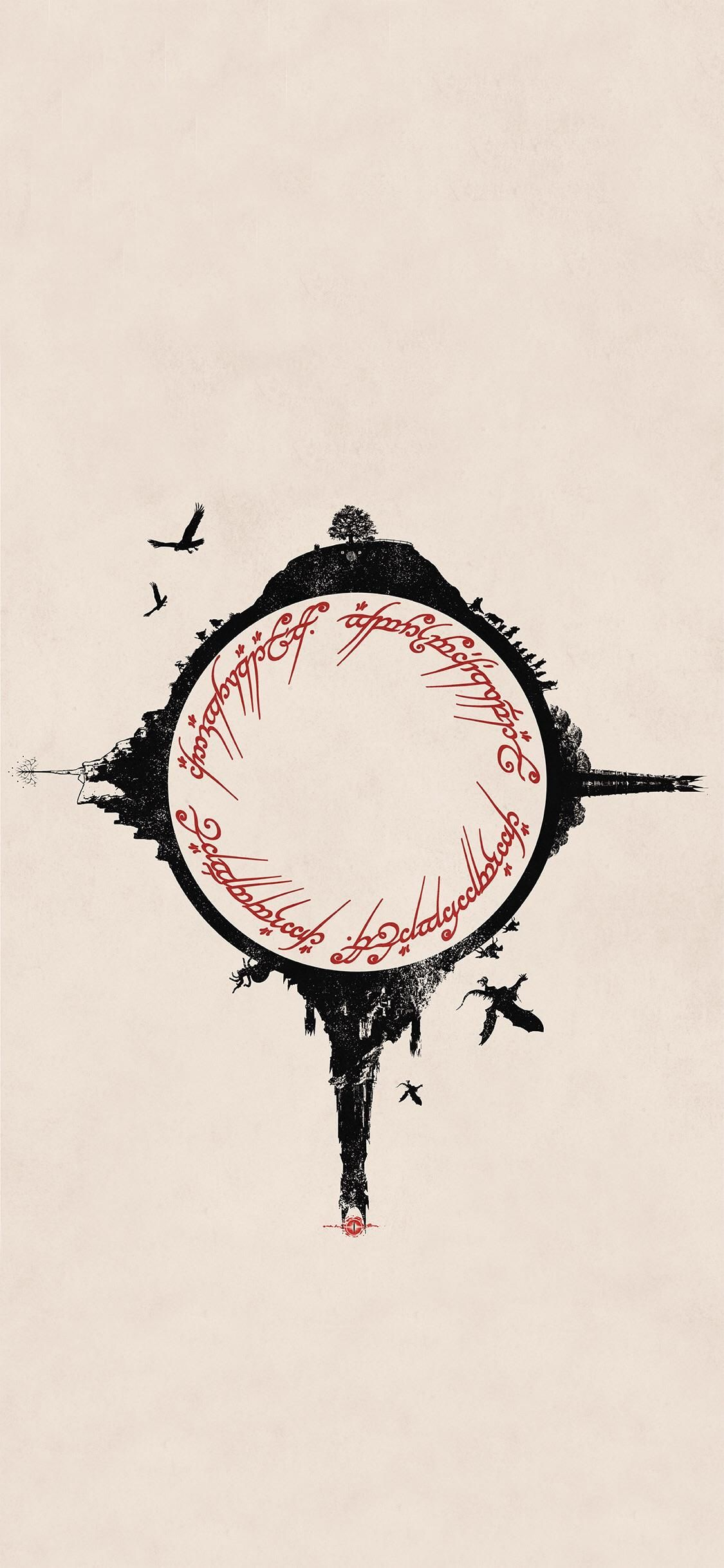 Lord Of The Rings Lotr For Iphone X Iphone X Wallpapers Iphonexwallpaper Lord Of The Rings Tattoo Lord Of The Rings Lotr Tattoo
