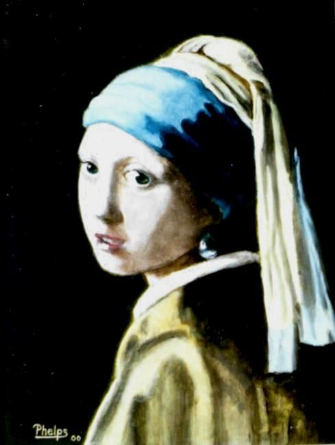 Lesson To Copy Famous Paintings Girl With Pearl Earring