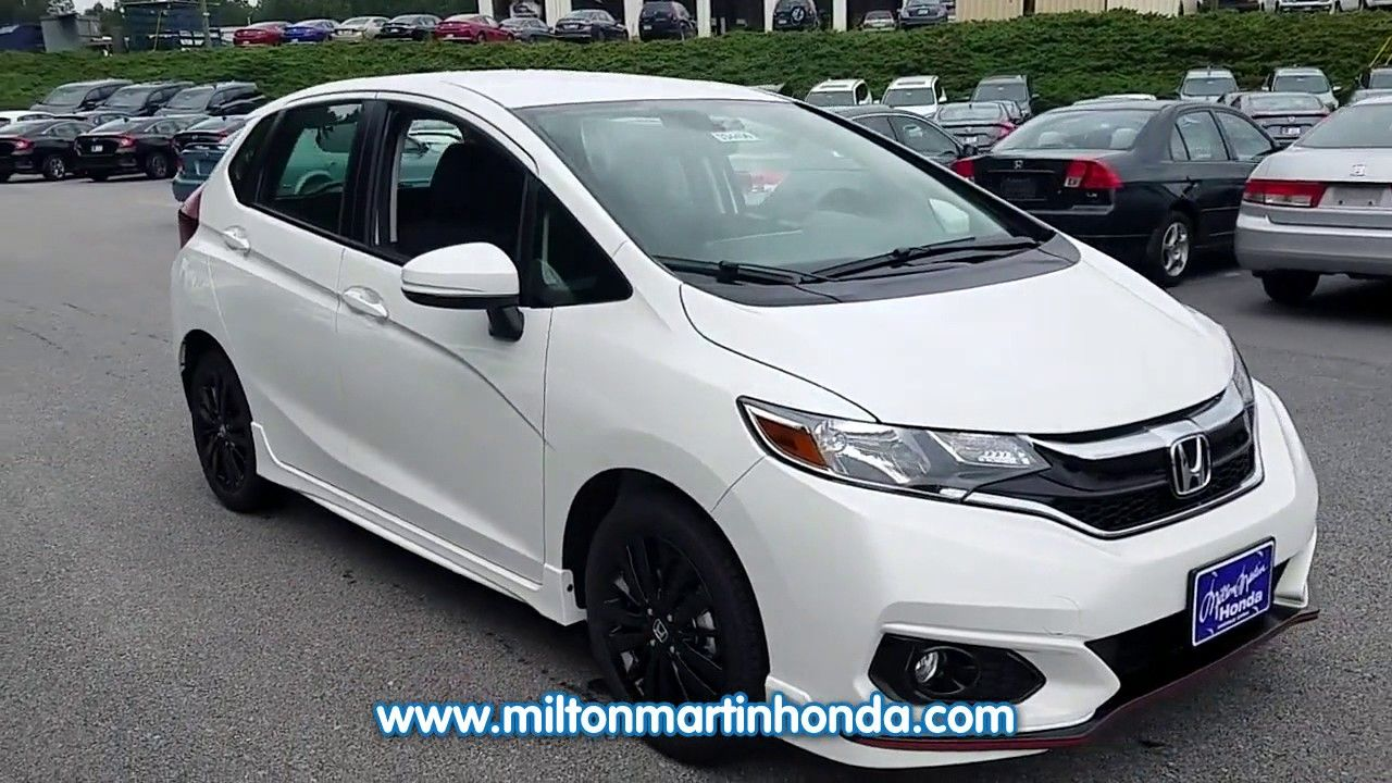 NEW 2018 Honda FIT SPORT CVT at Milton Martin Honda NEW