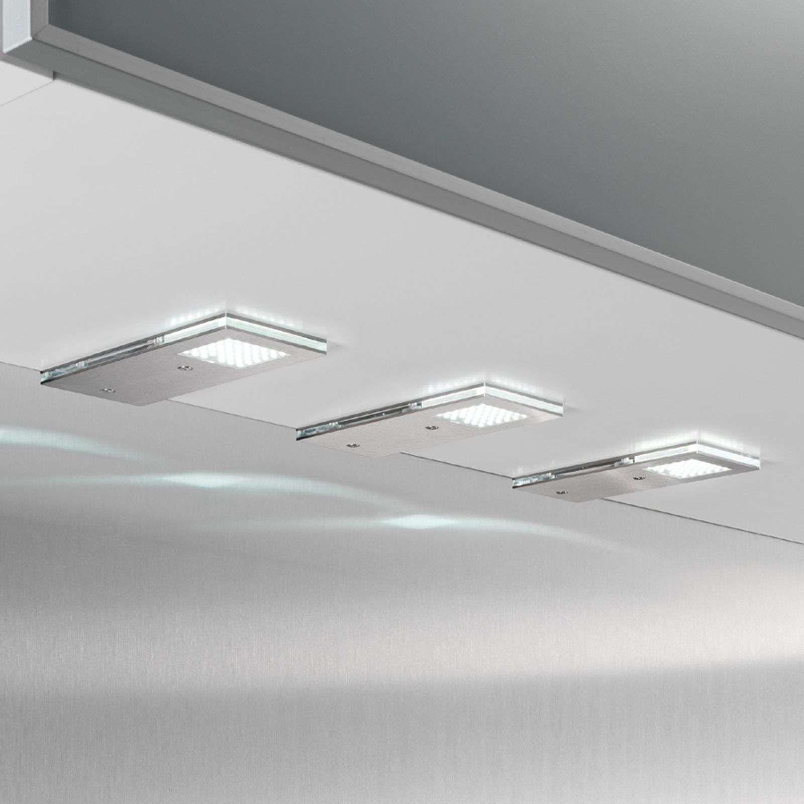 Set De 3 Lampes Sous Meuble Led Flat I De Evotec Luminaire Led Led Et Economies D Energie