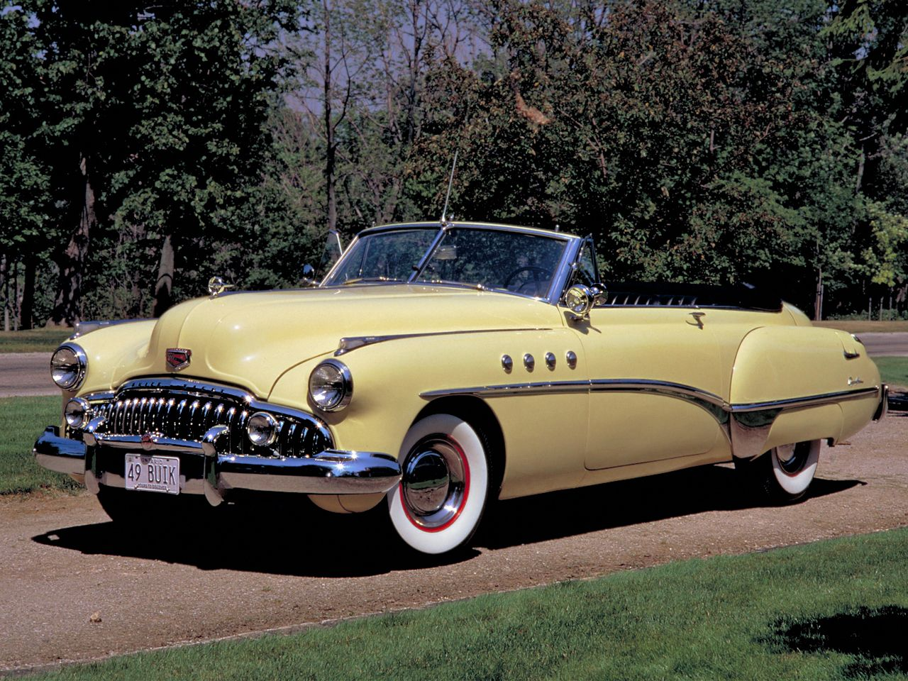 1949 Buick Roadmaster Riviera Convertible What A Beauty