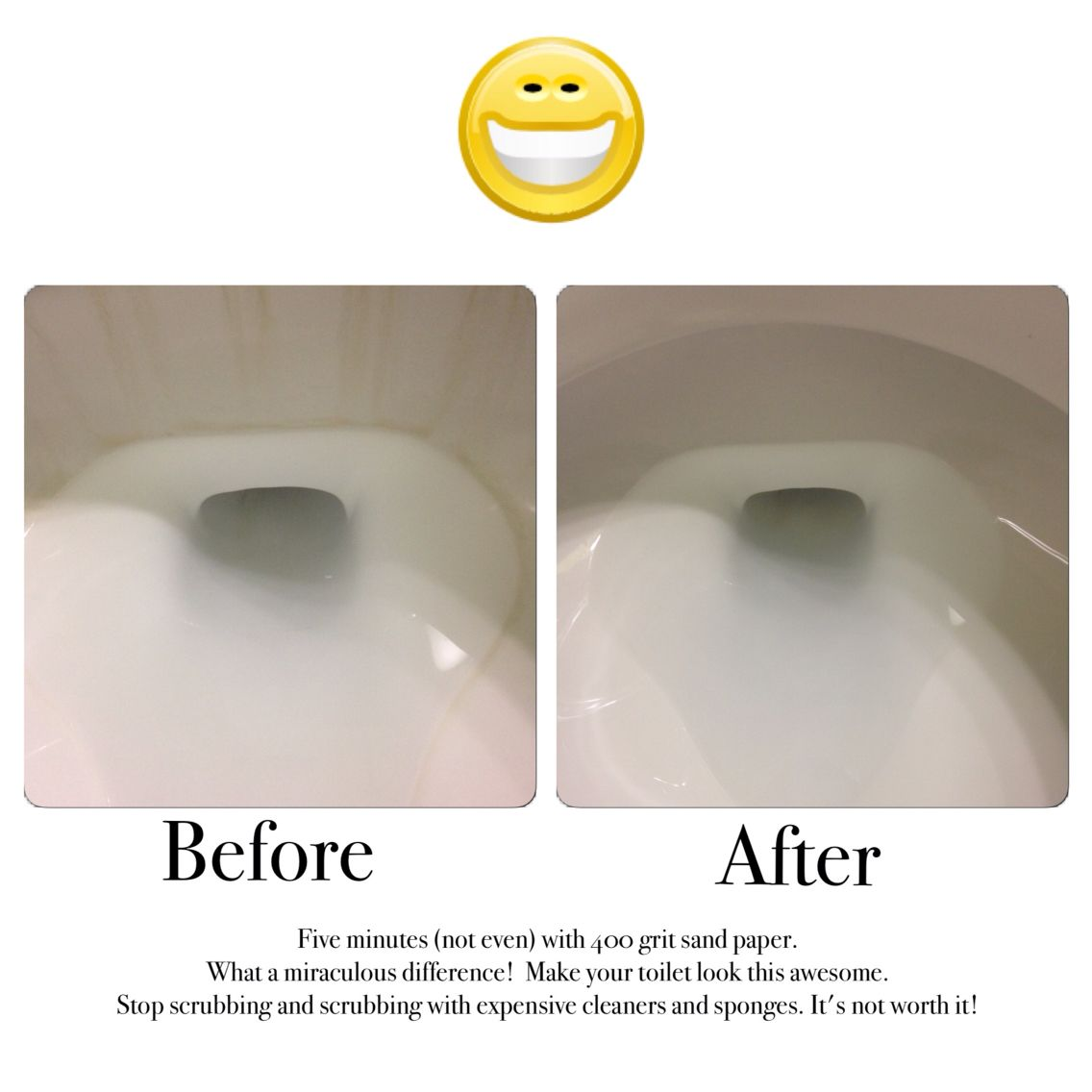 How To Clean Ring Around The Toilet In Less Than Five