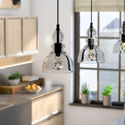 Yarger 1 Light Single Dome Pendant Kitchen Pendants Kitchen