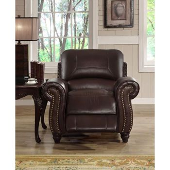 Catalina Leather Pushback Recliner Sale 799 99 Leather