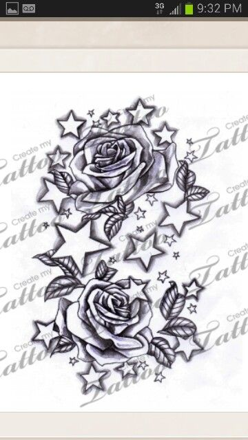 Another Lovely One Star Tattoos Star Tattoo Designs Star Sleeve Tattoo