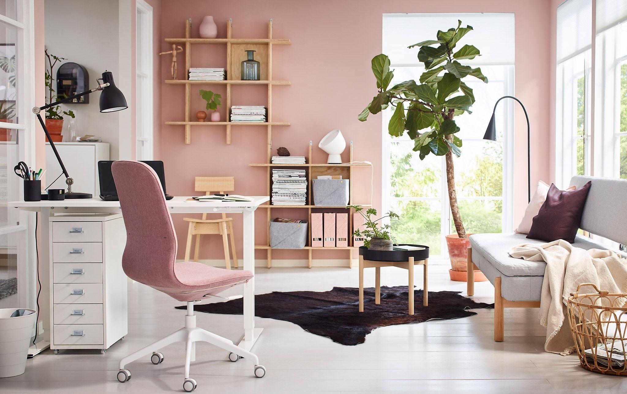 Удивительно красивый домашний офис для женщин