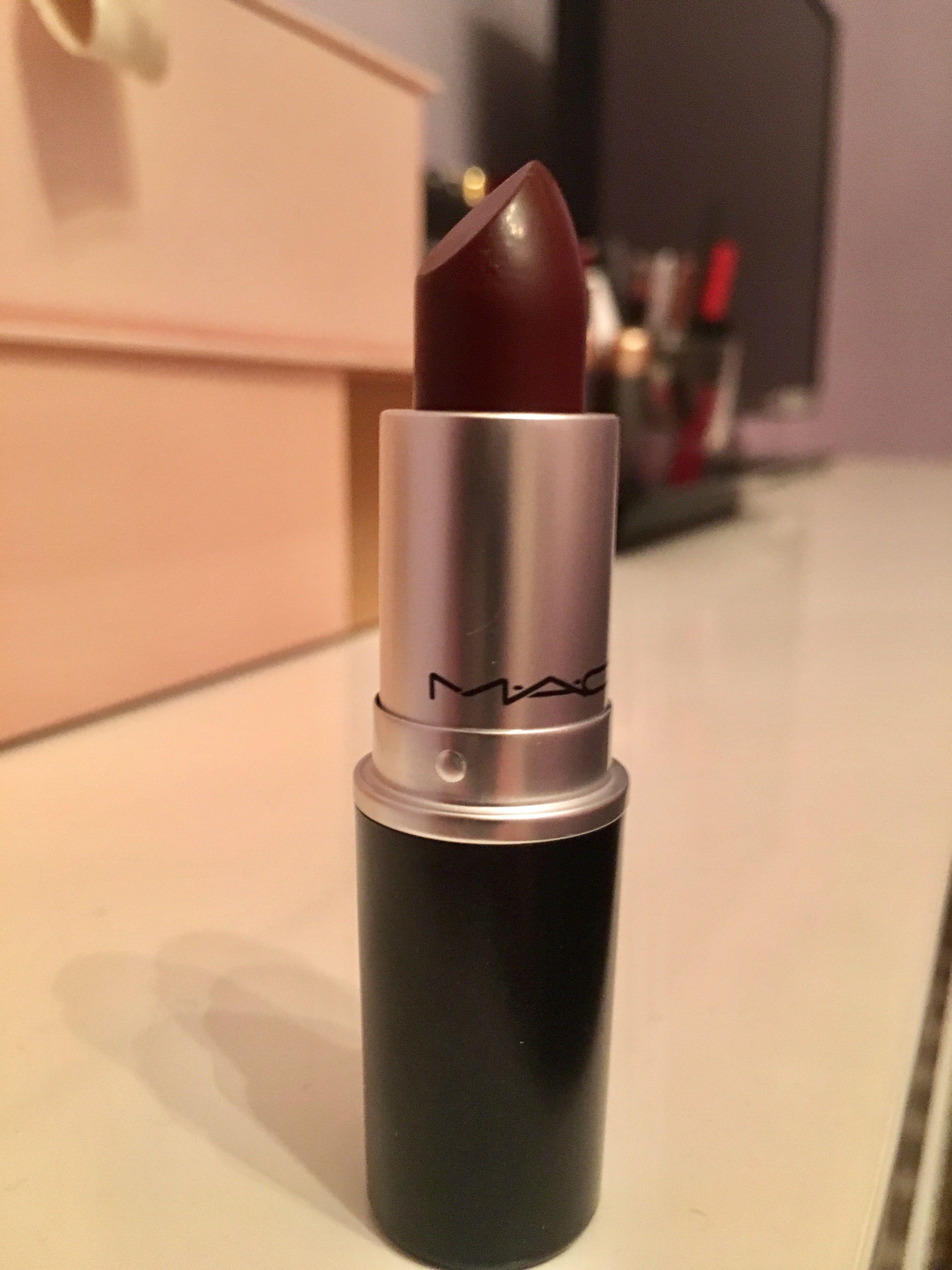 Mac Sin lipstick Lipstick, Mac sin lipstick, Makeup
