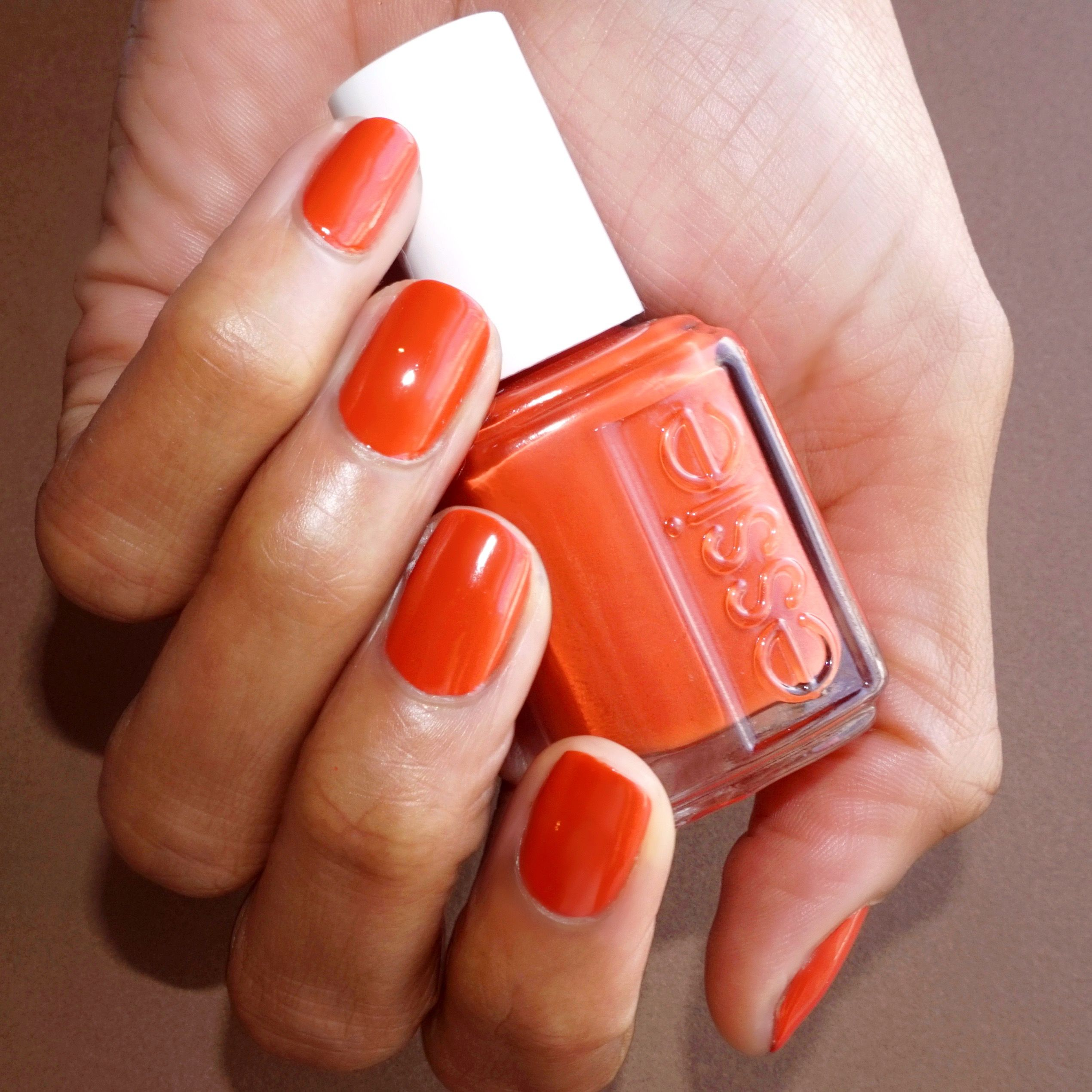Essie Yes I Canyon A Burnt Orange Nail Polish That S Perfectly