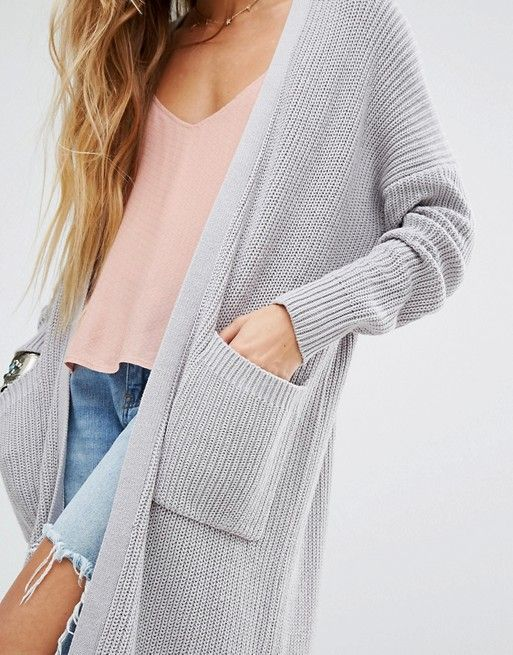 Honey Punch | Honey Punch Oversized Longline Cardigan $93 | Coats ...