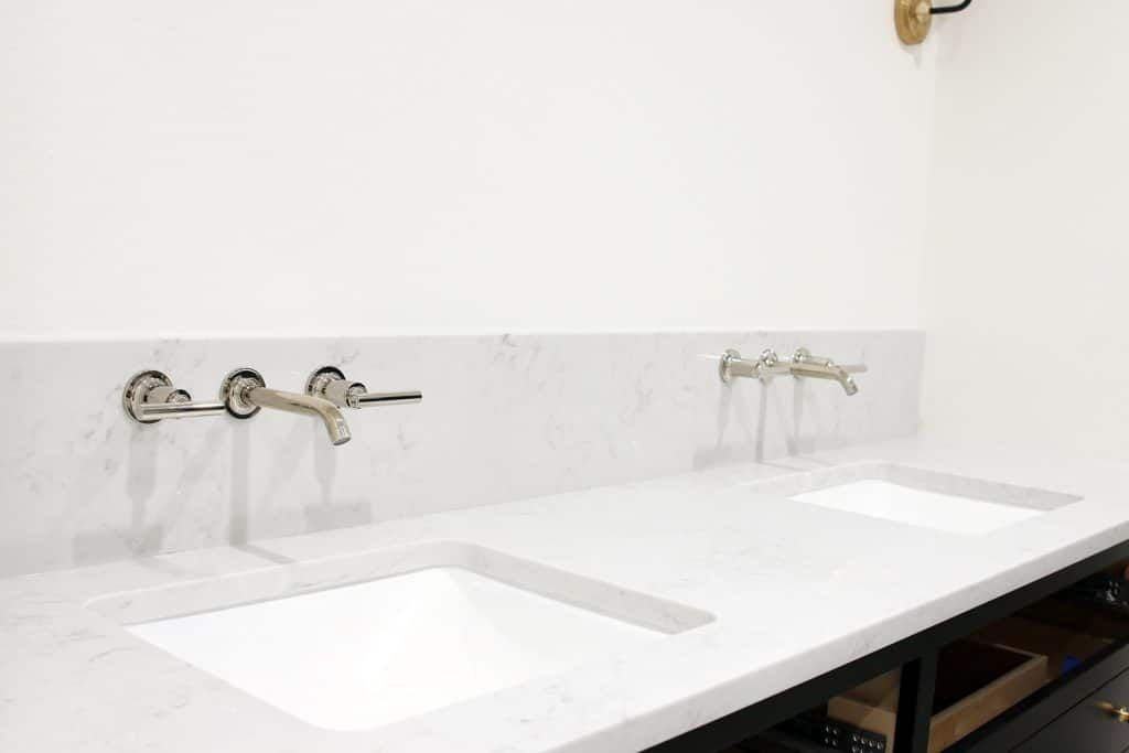 Our Undermount Bathroom Sink Wall Mount Faucets Installed Wall Mount Faucet Bathroom Wall Mount Faucet Wall Faucet