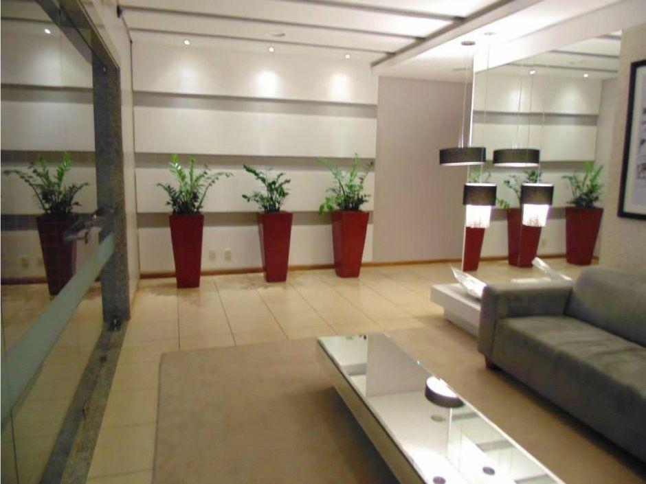 Hall de entrada de edificio residencial em campo grande - Decoracion hall de entrada edificios ...