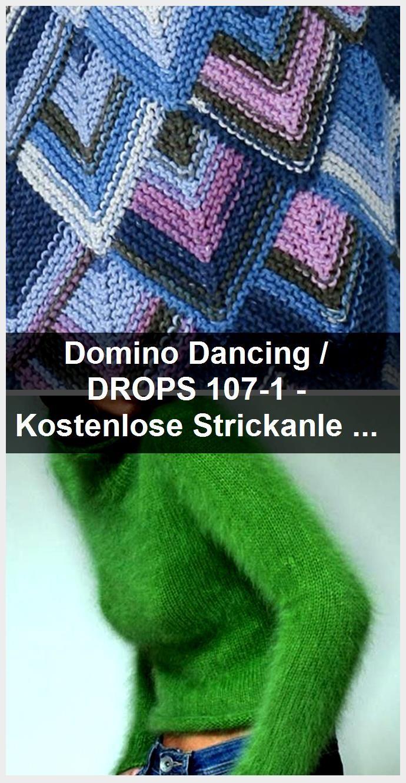 Domino Dancing DROPS 107 1 Kostenlose Strickanleitungen