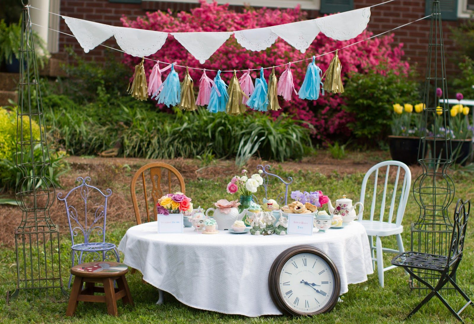 Time For Tea Alice In Wonderland Inspired Tea Party Alice In