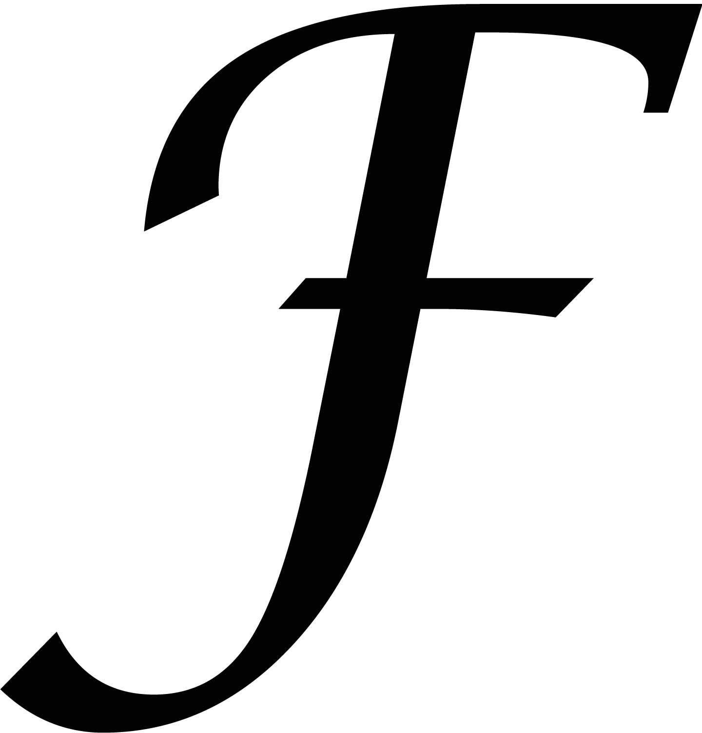 F | Created A Letter F Template And Printed It Out. If You Want One