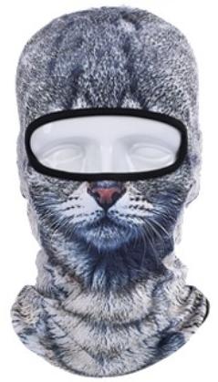 Cat & Dog Ski Neck & Face Mask