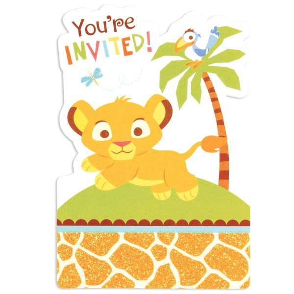 Find This Pin And More On Babyshower By Babyduck747099. Lion King Baby  Shower Invitations ...