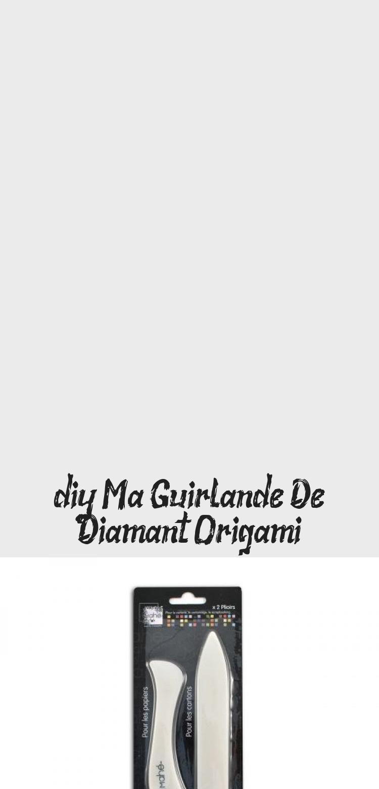Photo of {DIY} Meine Origami-Diamantgirlande • Einzigartiger Party-Workshop #Simpleorigami #o …