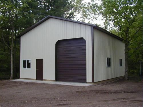 30 X 40 X 14 Hobby Buildings At Menards Pole Barn Plans Hobby Building Modern Farmhouse Floorplan