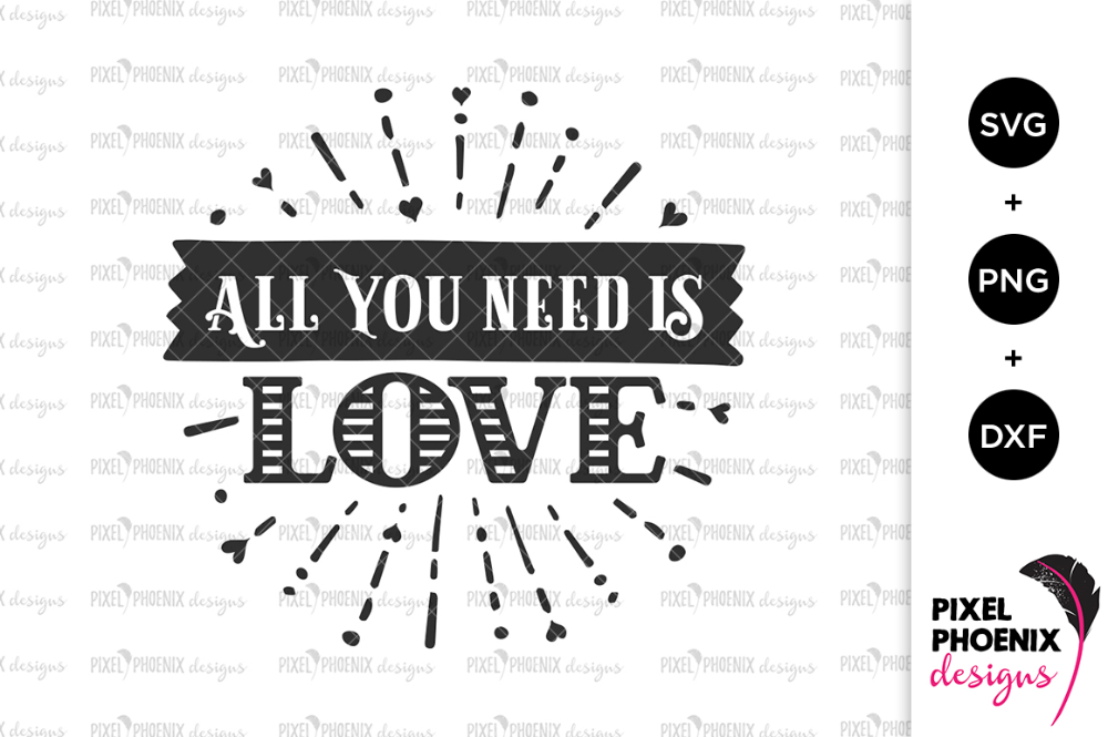 Download all you need is love svg - Google Search in 2020 | All you ...