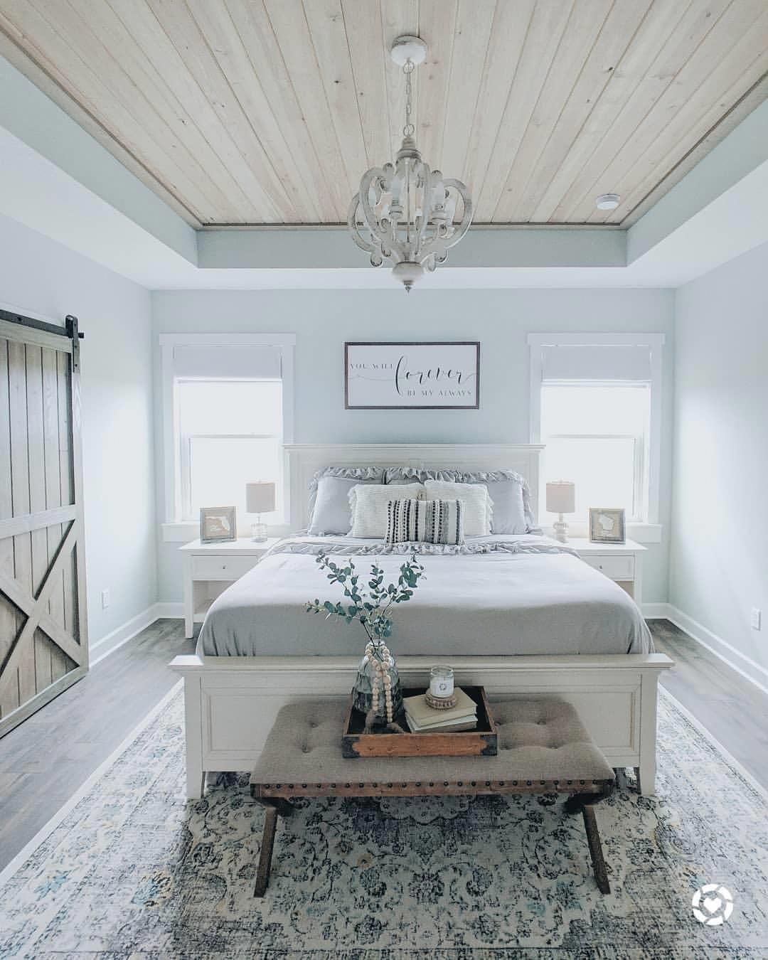 Master Bedroom Accent Wall Joanna Gaines