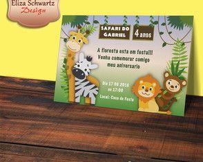 Convite Digital Safari