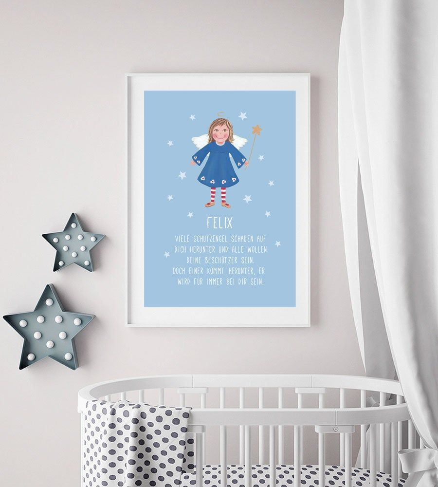 Guardian Angel Picture Your Personal Guardian Angel Gift