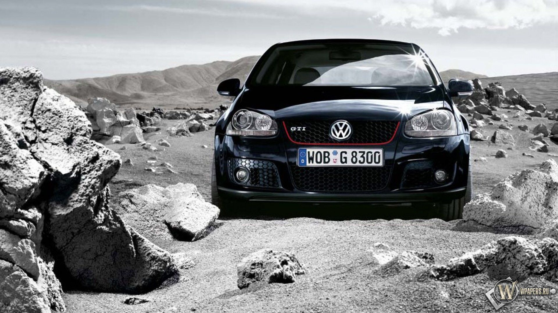Cars Wallpaper VW Golf Full HD For Desktop Background Resolution