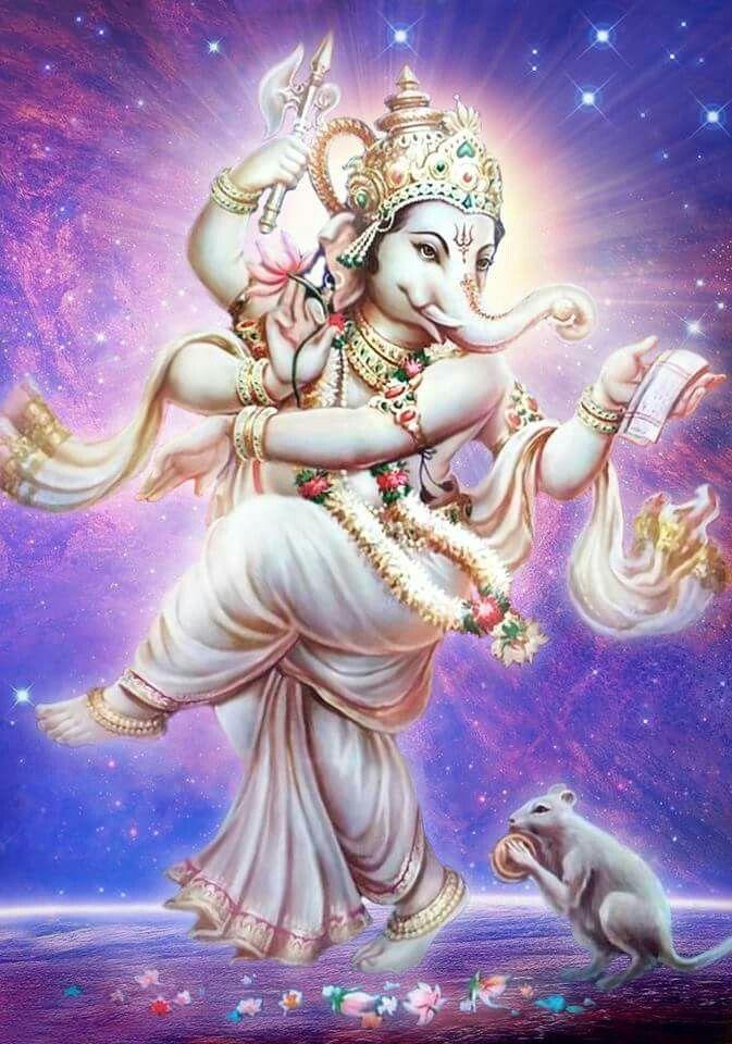 Dancing Ganesha and Mushak