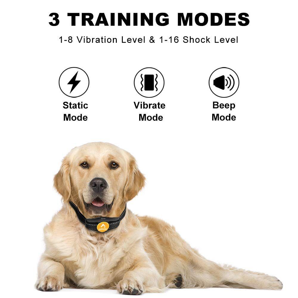 Dog training collar 100 waterproof shock collar for dogs