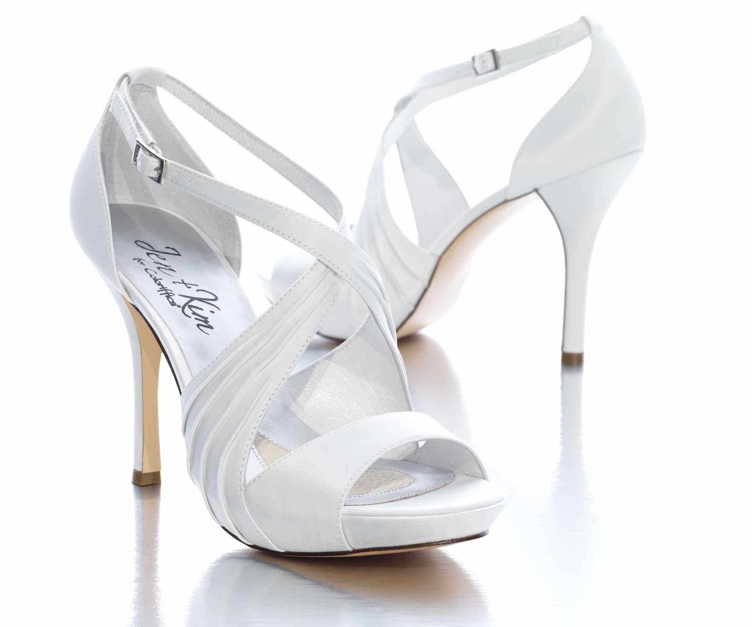 17 Best images about Wedding Shoes on Pinterest | White wedding ...