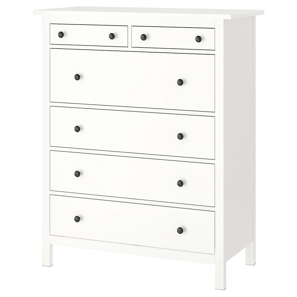 Hemnes 6 Drawer Chest White 42 1 2x51 5 8 Ikea Hemnes Ikea Hemnes 6 Drawer Chest [ 1000 x 1000 Pixel ]