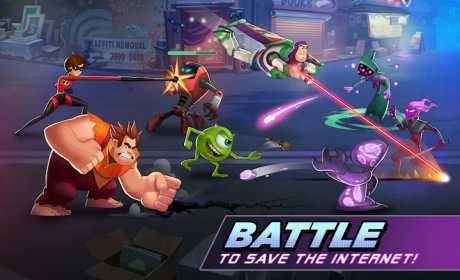 Disney Heroes: Battle Mode is a Strategy Game for android download