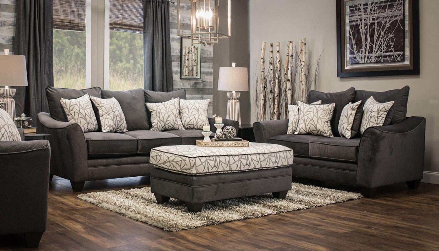 Waverly Seal Sofa Loveseat Furniture Living Room Living Room Furniture