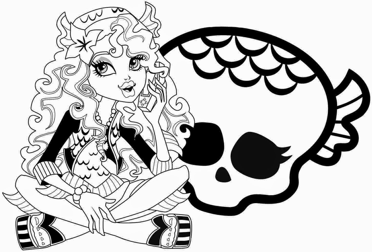 monster high characters coloring pages coloring pages monster high coloring pages - Monster High Coloring Pages