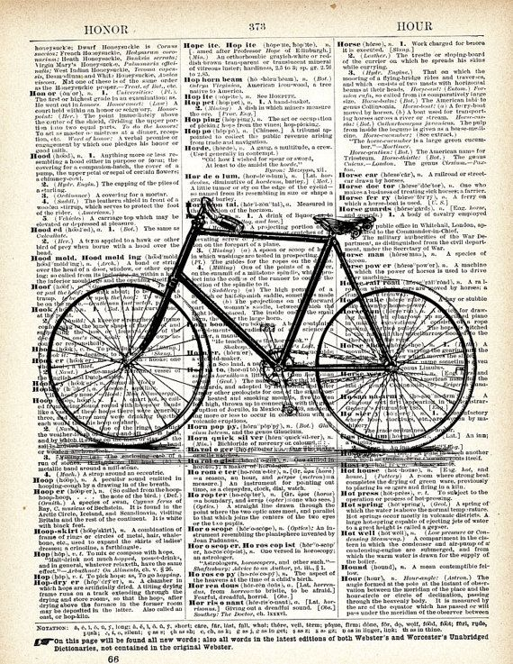 nice bicycle print