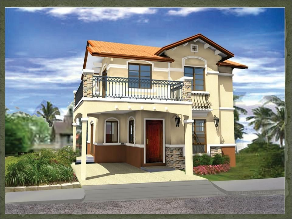 Sapphire dream home designs of lb lapuz architects for Modern model homes
