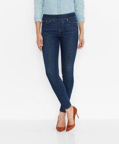 9ebe6607c92c23 ... off jean shorts. Perfectly Slimming Pull On Legging - Indigo Drift -  Levi s - levi.com