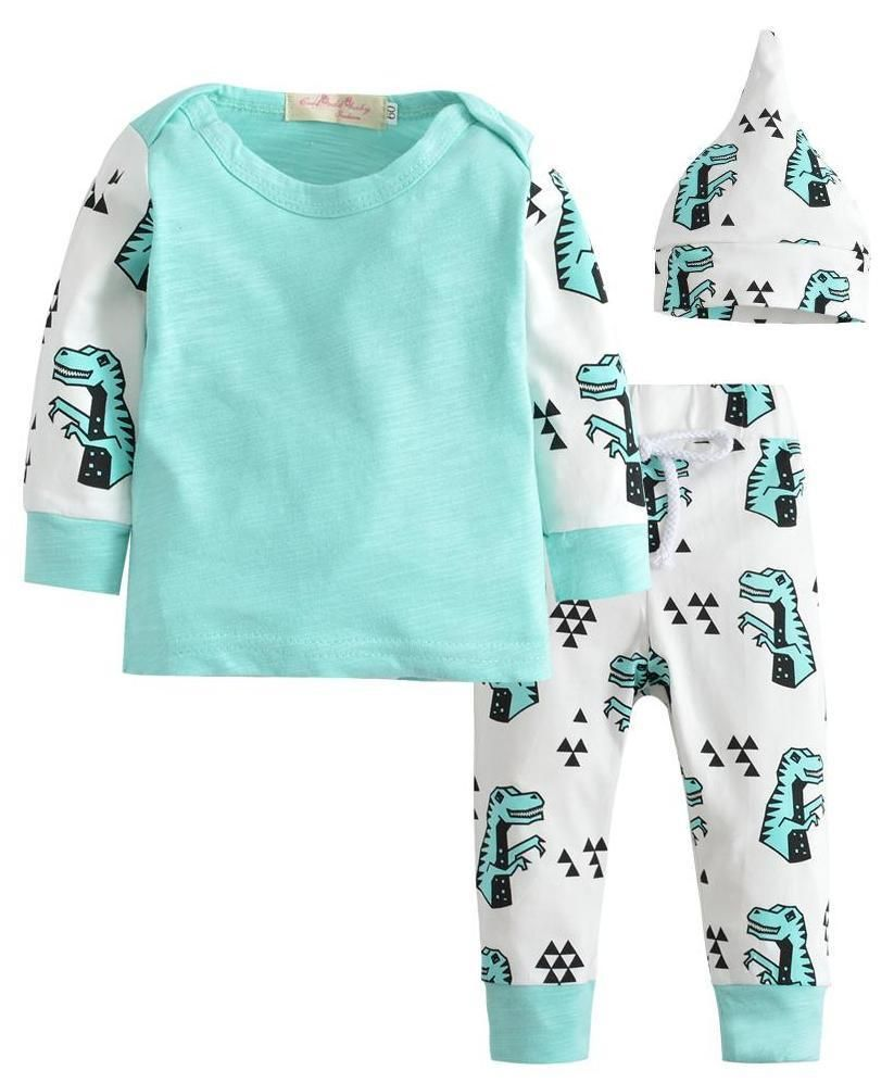 8312400561fa Love love love these dinosaur pajamas. The baby boy blue is a super cute  color too. #FashionTrendsKids
