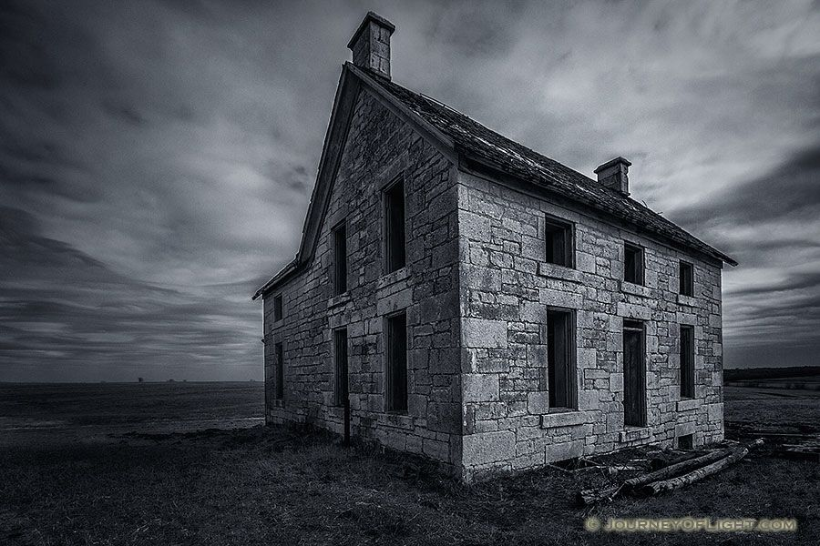 I Pictured This Being The House On Plains A Creepy Yet Big In Middle Of Nowhere