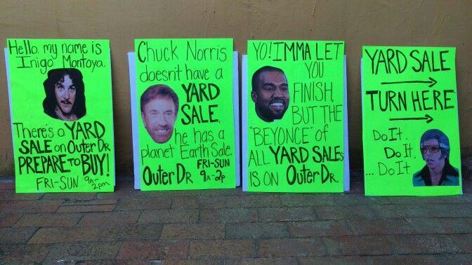 funny yard sale signs funny garage sale signs pinterest yard