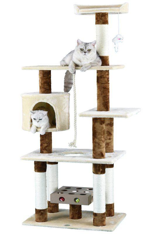 """67"""" IQ Box Cat Tree Modern cat furniture, Cat tree, Cat"""